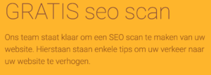 gratis seo scan e-mail