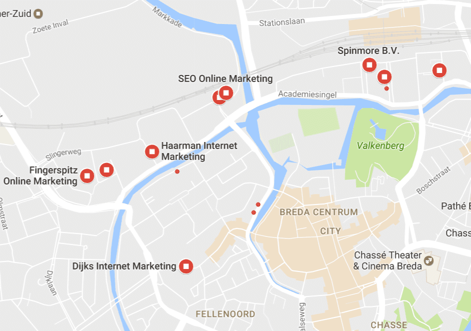 Google Maps optimalisatie