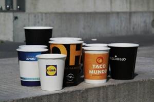 koffiebekers bedrukken logo